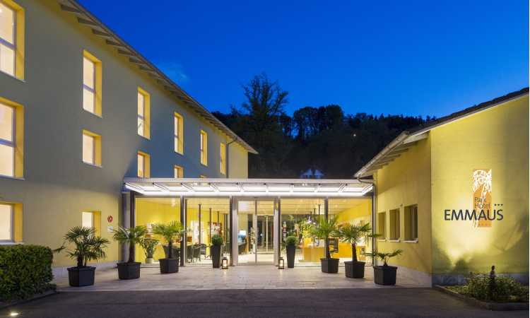 Entrata - Parkhotel Emmaus - Losone